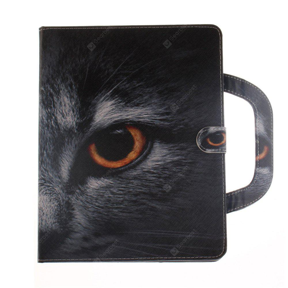 Leather Protective Case Wolf Pattern with A Hand for iPad 2 / 3 / 4