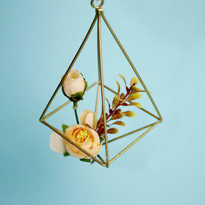 The Four Sides of The Metal Geometry Can Be Hung with The Air Pineapple Flower Holder and The Space Flower Pot