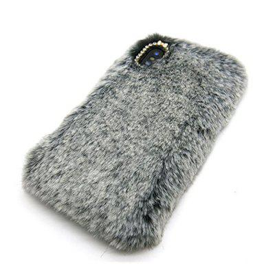 Rabbit Bunny Warm Furry Fur TPU Case for iPhone X