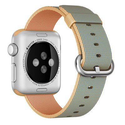38MM Woven Nylon Strap Band for Apple Watch Band Wrist Bracelet Watchband for Iwatch Band 1 2 3 Watch Accessories