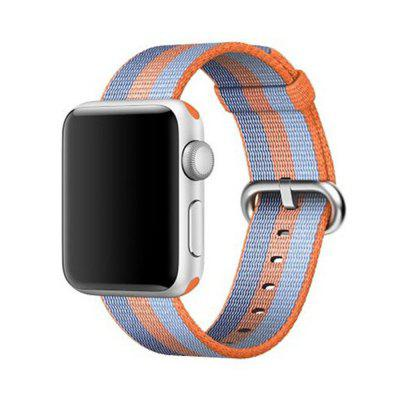 Buy 38MM Woven Nylon Strap Band for Apple Watch Band Wrist Bracelet Watchband for Iwatch Band 1 2 3 Watch Accessories, BLUE AND GOLDEN, Consumer Electronics, Smart Watch Accessories for $9.99 in GearBest store