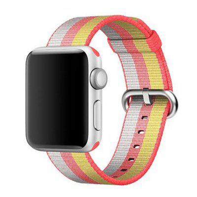 Buy 38MM Woven Nylon Strap Band for Apple Watch Band Wrist Bracelet Watchband for Iwatch Band 1 2 3 Watch Accessories, WHITE AND YELLOW, Consumer Electronics, Smart Watch Accessories for $9.99 in GearBest store