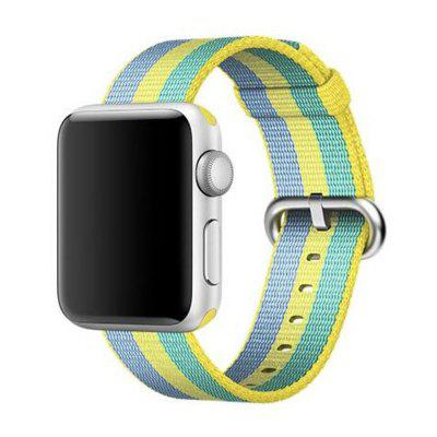 Buy 38MM Woven Nylon Strap Band for Apple Watch Band Wrist Bracelet Watchband for Iwatch Band 1 2 3 Watch Accessories, BLUE GREEN, Consumer Electronics, Smart Watch Accessories for $9.99 in GearBest store