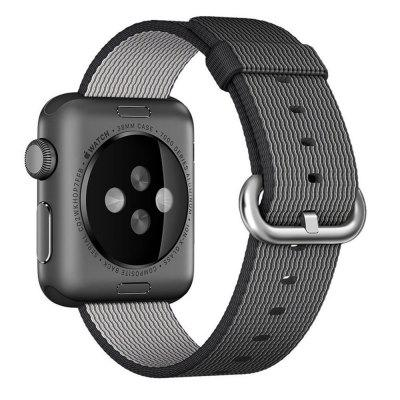 42MM Woven Nylon Strap Band for Apple Watch Band Wrist Bracelet Watchband for Iwatch Band 1 2 3 Watch Accessories