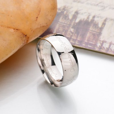 New Stainless Steel Finger Rings For Women Fashion Jewelry