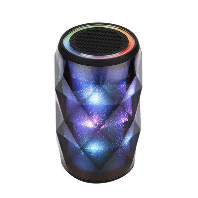 Digital LED Bluetooth Portable Wireless Stereo Speaker Color Changing Night Light