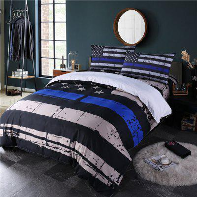 3D Digital Printing Creative Design Simple Fashion Bedding Four Pieces