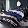 3D Digital Printing Creative Design Simple Fashion Bedding Four Pieces - BLUE