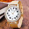 ZhouLianFa Luxury Fashion Network with Ladies Diamond Quartz Watch - GOLDEN