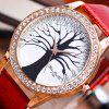 ZhouLianFa Top Brand Luxury Crocodile Diamond Women'S Business Quartz Watch - RED