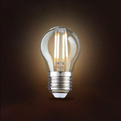 DP002 - 4W - WW Transparent Retro LED BulbLED Light Bulbs<br>DP002 - 4W - WW Transparent Retro LED Bulb<br><br>Certifications: CE,RoHs<br>Color Temperature or Wavelength: 2800K<br>Connection: E27<br>Dimmable: No<br>Initial Lumens ( lm ): 290-300lm<br>LED Beam Angle: 360 Degree<br>Lifetime ( h ): More Than  15000<br>Material: Glass<br>Package Contents: 1 x LED Bulb, 1 x English Manual<br>Package size (L x W x H): 5.50 x 5.50 x 9.50 cm / 2.17 x 2.17 x 3.74 inches<br>Package weight: 0.0030 kg<br>Primary Application: Everyday Use,Hallway or Stairwell,Home or Office<br>Product size (L x W x H): 4.50 x 4.50 x 7.50 cm / 1.77 x 1.77 x 2.95 inches<br>Product weight: 0.0020 kg<br>Type: LED Globe Bulbs<br>Voltage: AC 220<br>Wattage: 4W