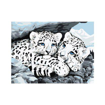Naiyue S186 White Tiger Brothers Printing and Painting Diamond Painting