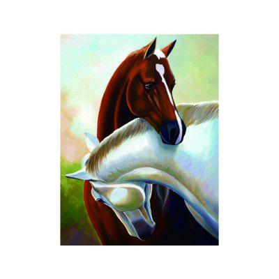 Naiyue S203 Embrace The Horse Print Draw Diamond Drawing