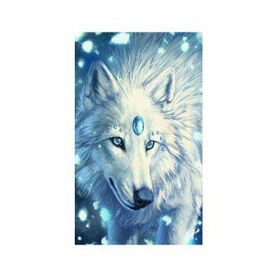 Naiyue S191 White Wolf Print Draw Diamond Drawing