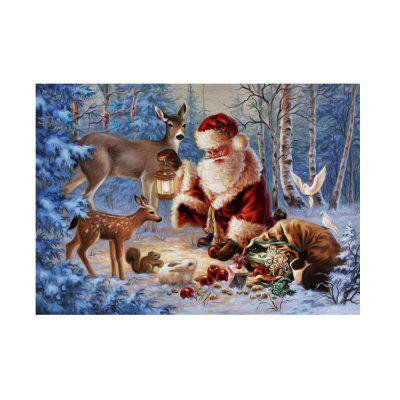 Naiyue K010 Santa Claus Print Draw Diamond Drawing