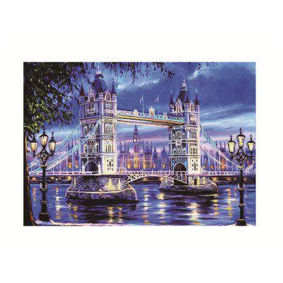 Naiyue Z018 Tower Bridge Print Draw Diamond Drawing