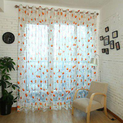 Modern Rotten Chrysanthemum Flowers and European Window Screen