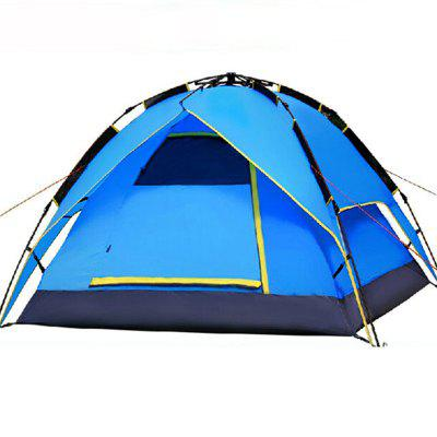 Outdoor Camping 3-4 People Fully Automatic Tents Camping Equipment