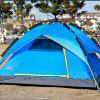Outdoor Camping 3-4 People Fully Automatic Tents Camping Equipment - BLUE