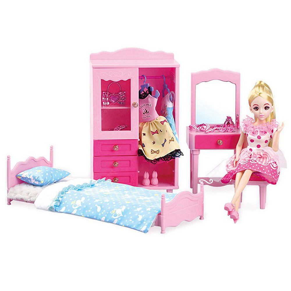 Children Exclusive Sweet Girl in Princess Room