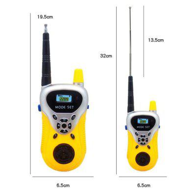 Kids Walkie Talkies Portable Two Way Radios Rechargeable Long Range Walky Talky for Children Cool Outdoor ToysClassic Toys<br>Kids Walkie Talkies Portable Two Way Radios Rechargeable Long Range Walky Talky for Children Cool Outdoor Toys<br><br>Age: Above 6 Years<br>Package Contents: 2 x Intercom<br>Package size (L x W x H): 33.00 x 6.00 x 22.00 cm / 12.99 x 2.36 x 8.66 inches<br>Package weight: 0.3000 kg<br>Type: Walkie-talkie