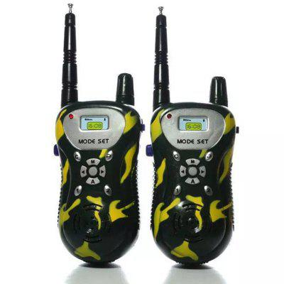 Bambini Walkie Talkies Portable Two Way Radios Ricaricabile Long Range Walky Talky per bambini Cool Outdoor Toys