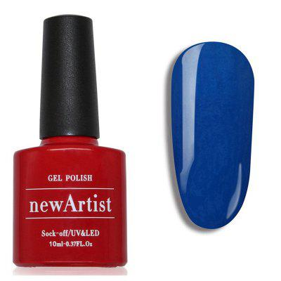 NewArtist Pure Color UV LED Nail Gel Polish Niagara Blue Series 30S Fast Drying Long Lasting Sock Off 10Ml