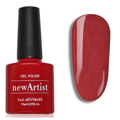 NewArtist Pure Color UV LED Nail Gel Polish Grenadine Series 30S Fast Drying Long Lasting Sock Off 10Ml