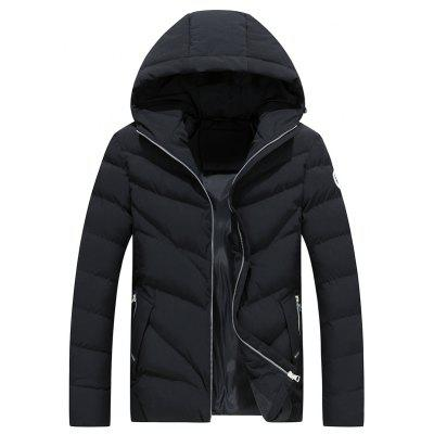 Thick Warm Winter Nueva Moda Slim Jacket Cap Coat