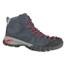 HUMTTO Hiking Shoes Men Walking Climbing Boots Rubber Leather Sneakers