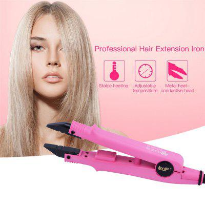 Professional Flat Shape Adjustable Temperature Hair Extension Iron Fusion Hair Connector Iron Wand Melting Tool