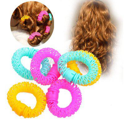 Donuts Curly Circle Plastic Hair Curls Rollers Bang Curls Artifact Wave Hair Styling Tools Hair Accessories for Women