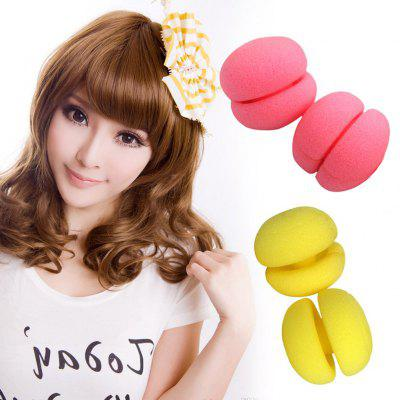Magic Sponge Balls Hair Care Soft Hair Curlers Foam Sponge Rollers Portable Design Can Sleep With Roll Hair Styling Tools