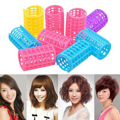 Magic Hair Curling Rollers 36*68mm 6pcs Plastic DIY Hair Styling Roller Curlers Clips Women Cosmetic Hair Rollers