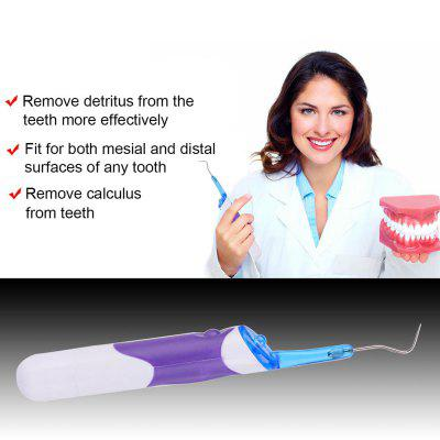 LED Light Teeth Cleaning and Whitening Dental Tool Plaque Remover DCU062-3