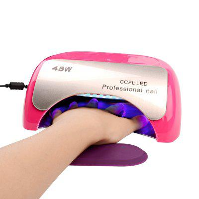 Original 48W UV Lamp CCFL Long Life LED Nail Dryer Nail Art Gel Curing 10s, 30s, 60s Timer Setting Fast Drying for Gel Nail Polish