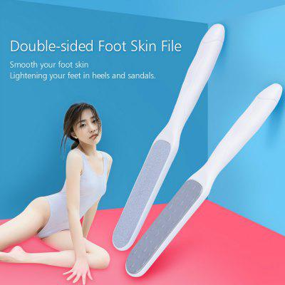 Double-sided Stainless Steel Dead Skin Coarse Callus Remover Foot File Pedicure Tool MR136-3 double side stainless steel foot rasp callus dead skin remover exfoliating pedicure hand manual foot file 26cm foot care tool 5