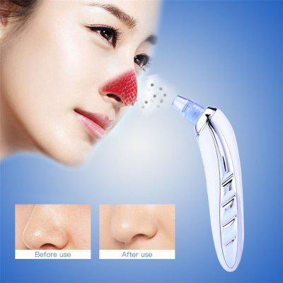 Face Pore Cleaner Microdermabrasion Blackhead Remover Acne Pimple Removal Vacuum Suction Tool Skin Peeling Face Clean Facial Diamond Dermabrasion Machine MR156W