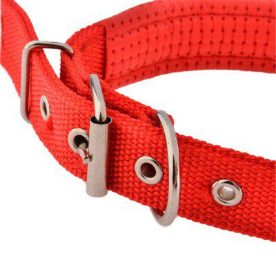 Dual Layer Comfort Foam Cotton Nylon Strap Pet CollarDog Collars &amp; Leads<br>Dual Layer Comfort Foam Cotton Nylon Strap Pet Collar<br>