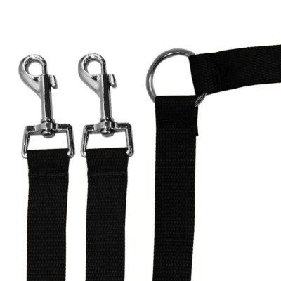 Strong Nylon Double Coupler Dog Pet Lead Leash Collars with ClipDog Collars &amp; Leads<br>Strong Nylon Double Coupler Dog Pet Lead Leash Collars with Clip<br>