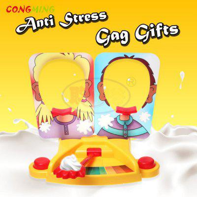 CongMingGu Antistress Toy Funny Gadgets Double Version Fun Face Game Kids Board Games Anti Stress Gag Gifts Foam Box