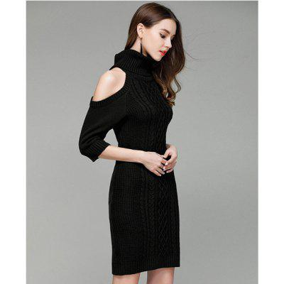 Sexy Off-the-Shoulder Knitting Long SweaterSweaters &amp; Cardigans<br>Sexy Off-the-Shoulder Knitting Long Sweater<br>