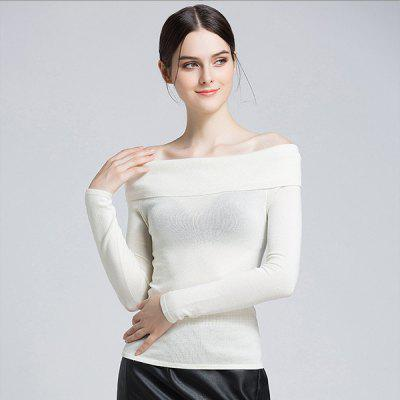 A Word Sweater Women Sexy Female Strapless Tight Knit TopsSweaters &amp; Cardigans<br>A Word Sweater Women Sexy Female Strapless Tight Knit Tops<br>