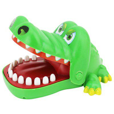 Buy GREEN Board Game Trick Crocodile Bite Fingers Toys classic Parent Child Game for $7.47 in GearBest store