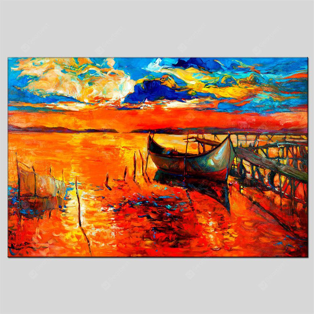 Hua Tuo Sailing Oil Painting 60 x 90CM OSR - 160480