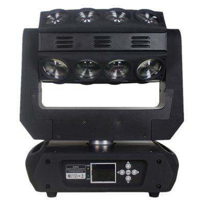 LED Beam Moving Head 16 LEDs 15W RGB 4 in 1 Effect Stage Lighting