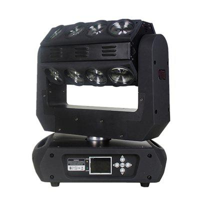 LED Beam Moving Head 16 LEDs 15W RGB 4 in 1 Effect Stage LightingStage Lighting<br>LED Beam Moving Head 16 LEDs 15W RGB 4 in 1 Effect Stage Lighting<br><br>Body Color: Black<br>Control Mode: DMX512, Auto Mode, Voice-activated<br>Function: For party, For Outdoor Sporting<br>Laser Color: Blue,Green,Red<br>Lifespan (hour): 60000<br>Material: Cast Aluminum<br>Model: MT-M-A019<br>Package Contents: 1 x Light, 1 x Signal Cable, 1 x  Power Cable, 1 x User Manual<br>Package size (L x W x H): 49.00 x 26.00 x 55.00 cm / 19.29 x 10.24 x 21.65 inches<br>Package weight: 20.0000 kg<br>Plug Type: EU plug<br>Product Size(L x W x H): 41.00 x 20.00 x 41.00 cm / 16.14 x 7.87 x 16.14 inches<br>Product weight: 16.0000 kg<br>Shape: Cylinder<br>Type: Moving Head Lights, LED Effects Stage Light, DJ and Disco Light