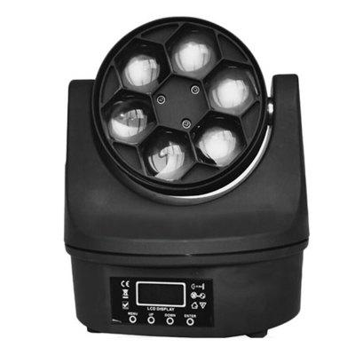 Bee Eyes 6 LEDs Disco Moving Head Light