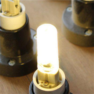 WeiXuan 5W 380LM E12 Dimmable Warm White Silicone LED Bulb AC 220V - 240V