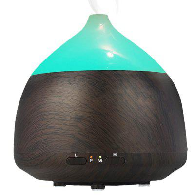 New Smart 100ML Led Light House Scent Cool Mist Ultrasonic Wooden Aroma Diffuser